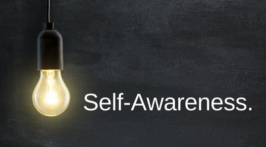 self awareness light bulb