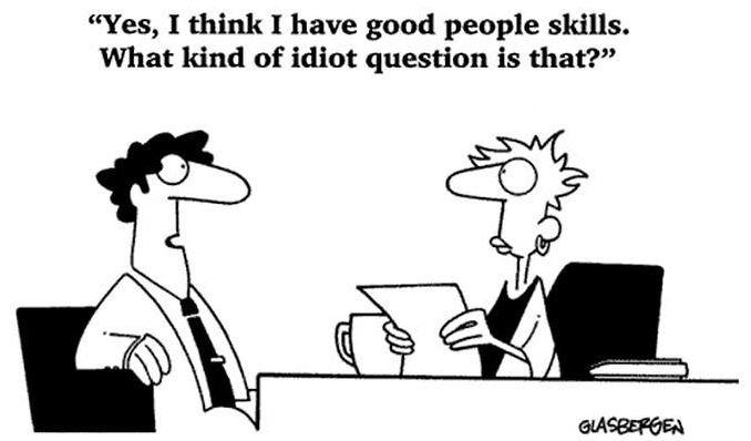 Self-awareness funny cartoon